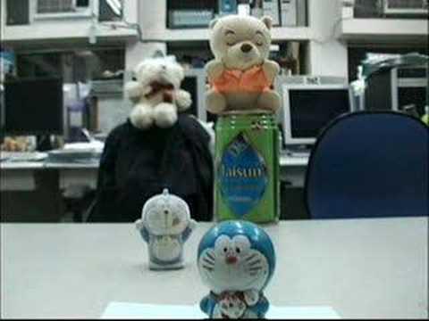 Free viewpoint Video - Doraemon