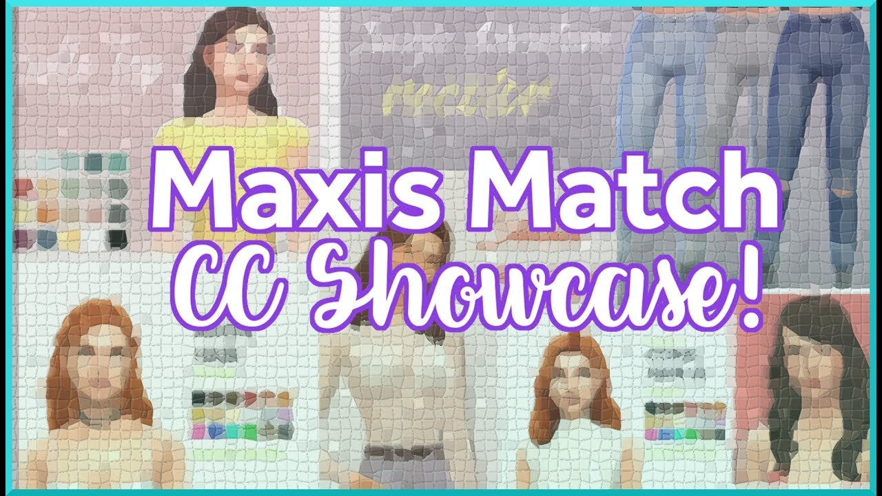 Sims 4| CC Haul CAS+ Poses+ CC List Down Below by