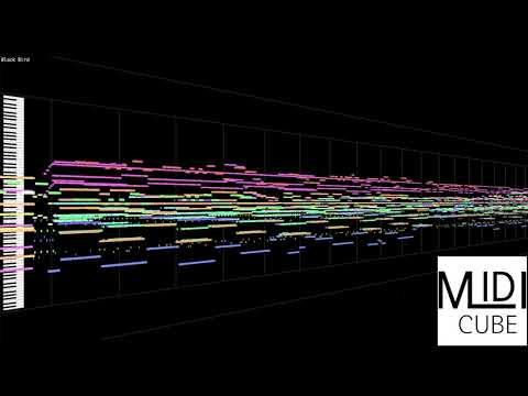 【MIDI Full Cover】Aimer - Black Bird  | MIDI CUBE