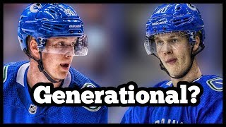 Is Elias Pettersson A GENERATIONAL Player?