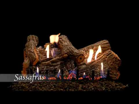 Sassafrass Refractory Gas Log Set by Empire Comfort Systems