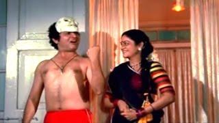 Super Comedy Scene - Asrani @ Ghar Ek Mandir - Shashi Kapoor, Moushumi, Mithun