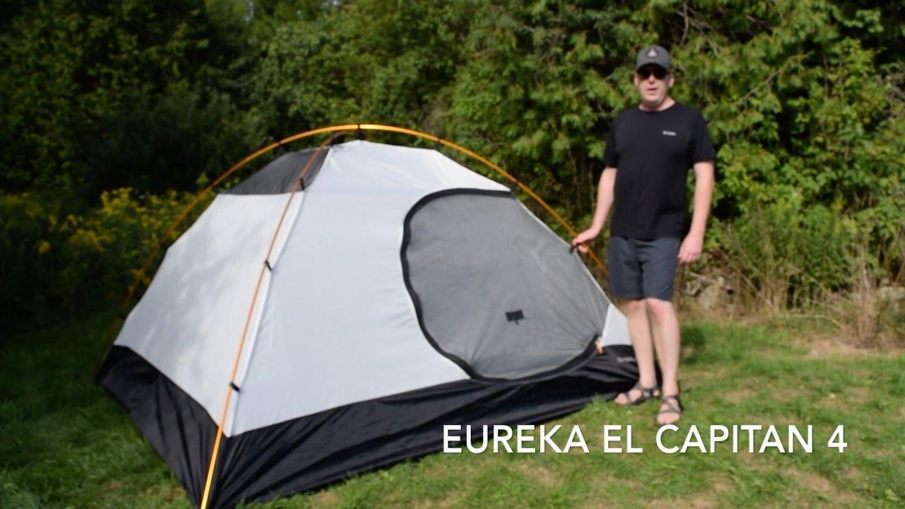 Eureka El Capitan 4 Tent Review - YouTube