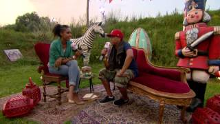 Chuckie - Interview at Tomorrowland 2012
