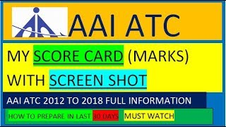 AAI ATC Preparation Strategy    How to Prepare for AAI ATC EXAM in last 30 days