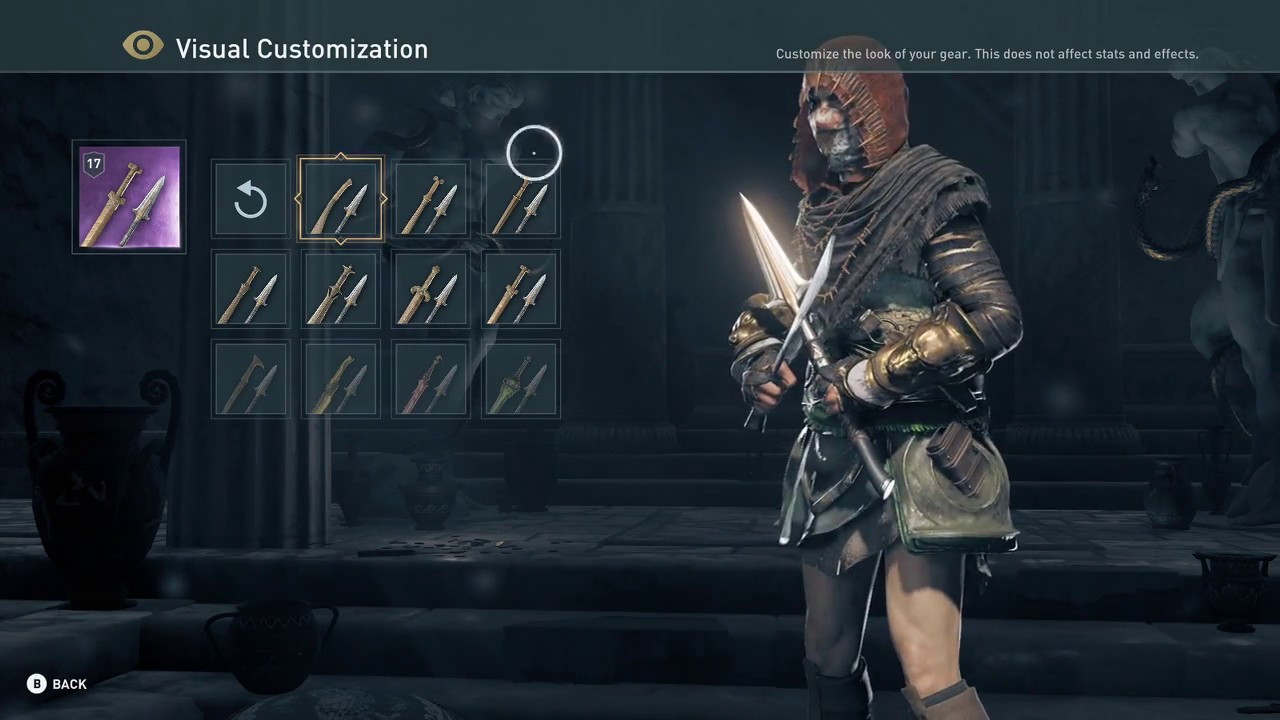 Assassin's Creed Odyssey Visual Customization - YouTube