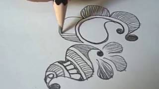 How to Learn Arabic Mehndi Design (Eighth Day Class) thumbnail
