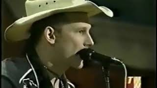 Hank Williams III performing in the late 90 s at the ryman