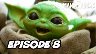 Star Wars The Mandalorian Episode 8 Finale - TOP 10 WTF and Easter Eggs