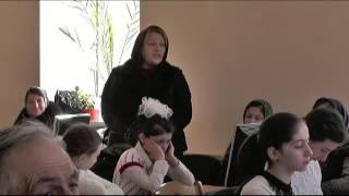 День родного языка и юбилей журналиста Н. Гаджиева в читальном зале библиотеки