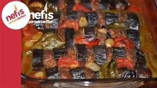 Fırında Patlıcan Kebabı - Nefis Yemek Tarifleri