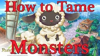 Rune Factory 4: How To Tame and Use Monsters