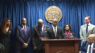 Racial Reconciliation Senate Press Conference with Lawmakers and Millennial Civil Rights Campaign