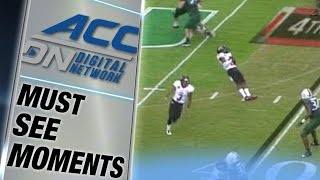 Arkansas State Player Plays Dead During Fake Punt | ACC Must See Moment