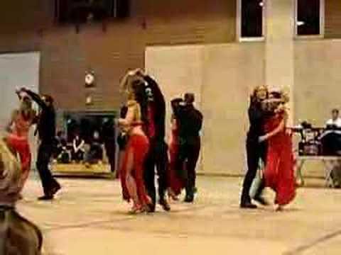 Salsa Profs 2007, nuit de la danse, EPFL, UNIL, Dance,