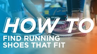 How to Find Running Shoes That Fit