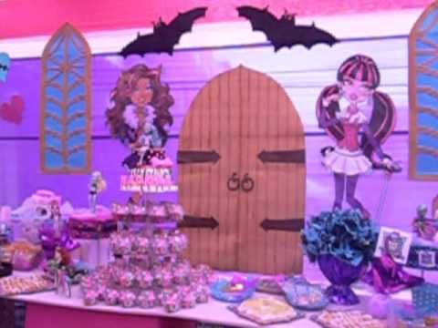 Decoración Monster High - Recreolandia Producciones Videos De Viajes