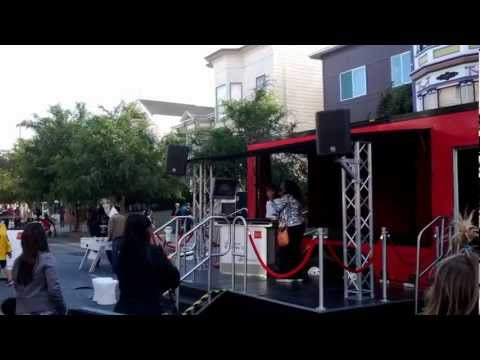 Awesome karaoke at 2012 San Francisco Street Food Festival