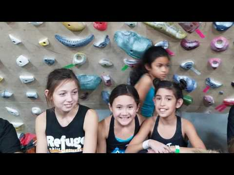 USA CLIMBING YOUTH BOULDERING DIVISIONALS
