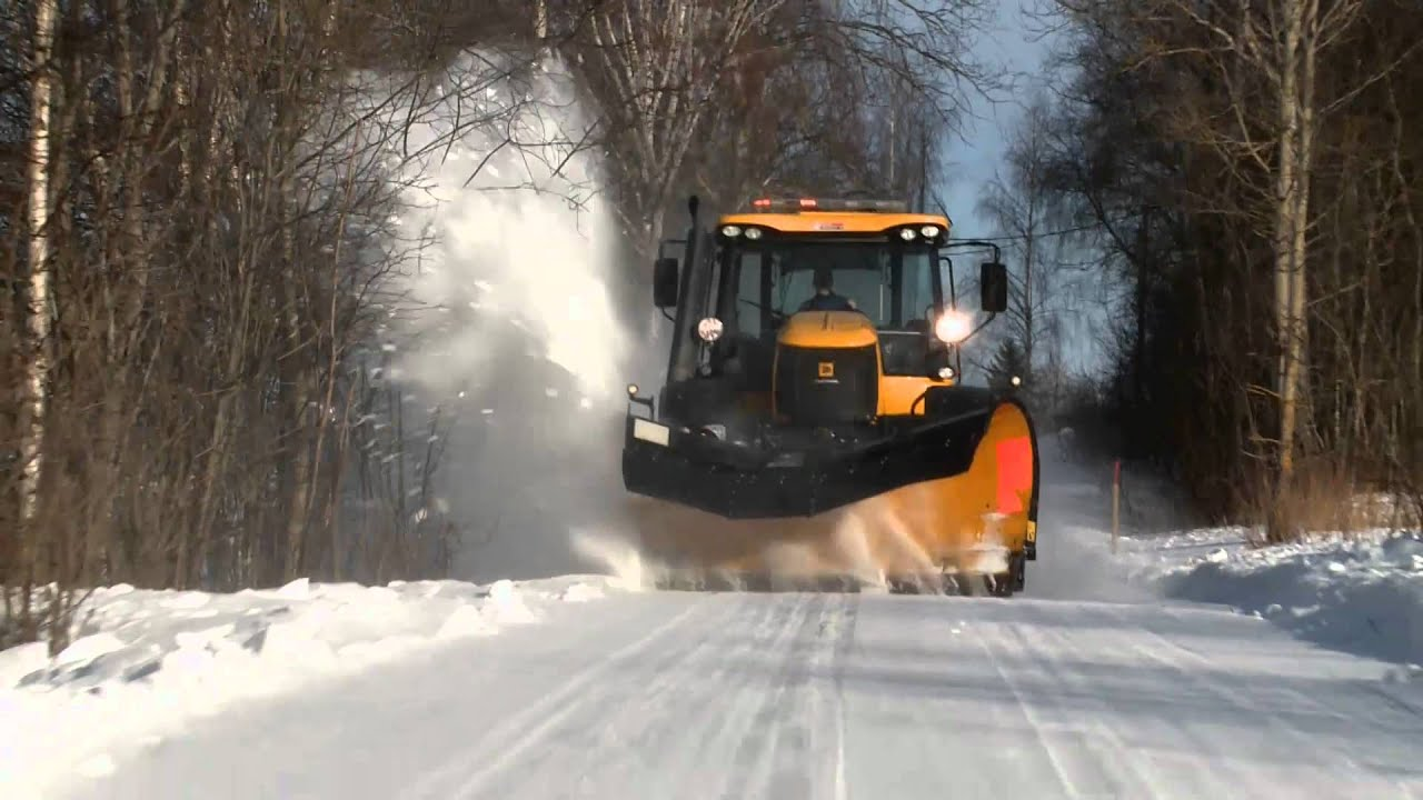 Fastrac - Snow Plough - English
