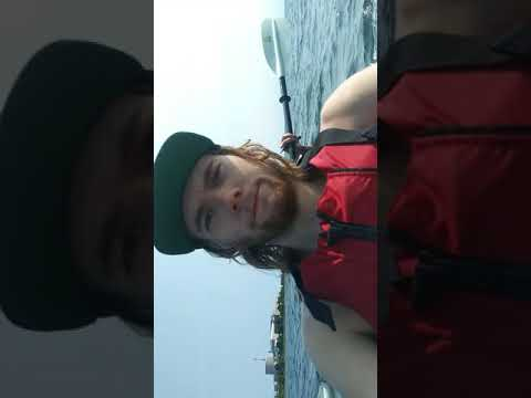 Kayaking off niantic bridge Connecticut