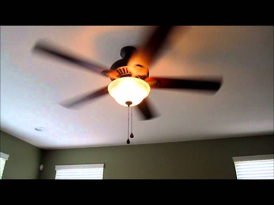 Harbor Breeze 52 Quot Crosswinds Ceiling Fan Review Youtube