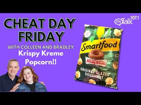 Cheat Day Friday: Krispy Kreme Popcorn!