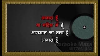Aawara Hoon - Karaoke - Exclusive Version