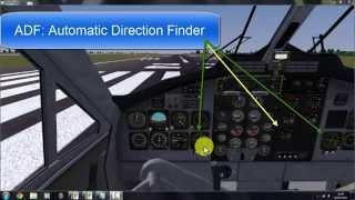 flightgear 3 0 0 how to adf ndb navigation