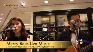 "Merry Bees Live Music - Ryan & Steph performs ""Rockin' Around The Christmas Tree"""