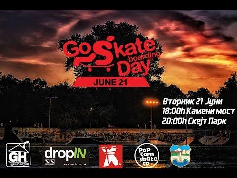 Go Skateboarding Day Skopje 2016