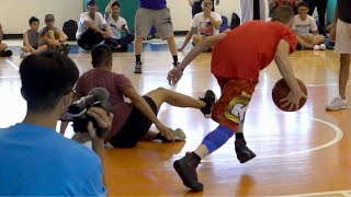 The Professor vs D1 Hooper in Taiwan 1v1... Gets Destroyed, Then DAMAGES Ankles Video