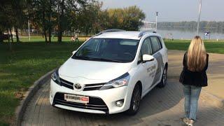 Новая Toyota VERSO: большой тест АВТОПАНОРАМЫ