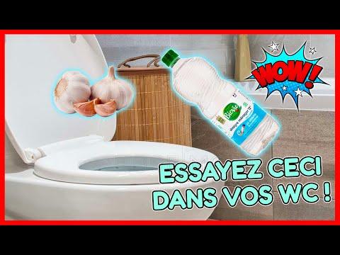 Place un ail et du vinaigre dans tes toilettes tu seras abasourdi des résultats le lendemain!