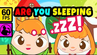 Are You Sleeping - Instrumental | Cute Nursery Rhymes by Booboo Eggs TV - 60fps