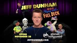 Jeff Dunham & Achmed Planet Hollywood Announcement