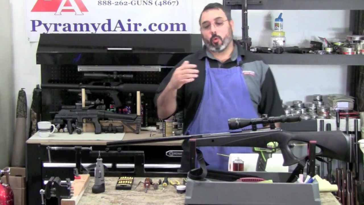 Take AIM Episode 8 - How to rebuild your breakbarrel airgun