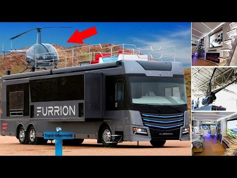 Top 11 Motor Homes You Won't Believe Exist