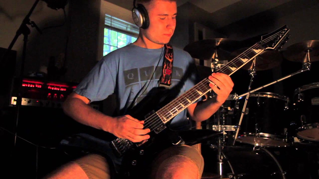 as i lay dying confined guitar cover redo peavey 5150 youtube