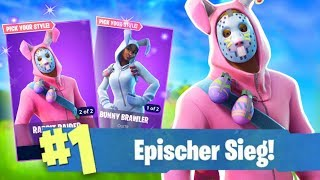 WIN WITH NEW OSTER SKIN! *EPISCH* (Fortnite Battle Royale English)