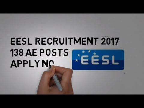 EESL Recruitment 2017 – 138 AE Posts   Apply Now