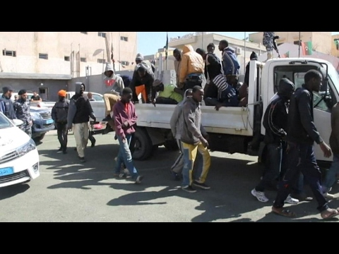 Migrants targeted by slavetraders in Libya, UN reports