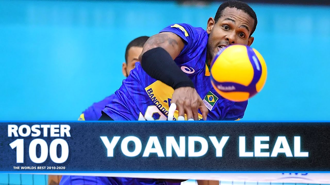 Evolution of Yoandy Leal - Monster of the Vertical Jumps!   Volleyball World   HD