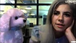 Marina and the Diamonds - Webcam Chat (Complete 07-10-2011)