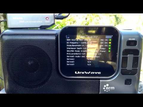 Full Program and comparison AM x DRM of Radio Kuwait 15540 kHz