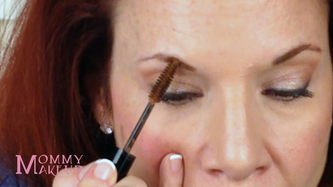 How To Apply Brow Tint For Thinner Eyebrows By Mommy Makeup