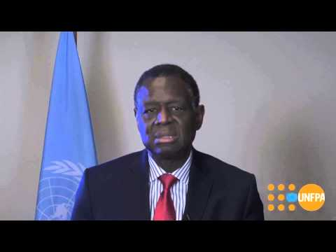Dr. Babatunde Osotimehin, Executive Director of UNFPA