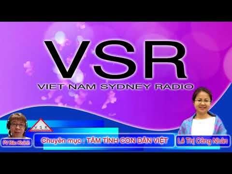 Vietnam Sydney Radio - Nữ LS LÊ THỊ CÔNG NHÂN 18/06/2018