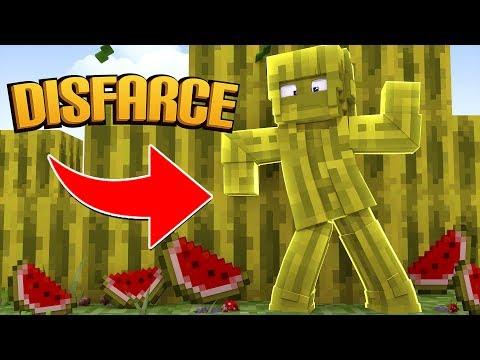 Minecraft: DISFARCE DE MELANCIA - (Esconde-Esconde)