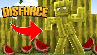 Minecraft: DISFARCE DE MELANCIA - (Esconde-Esconde)